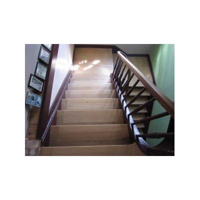 ausgeleimte Stufen